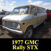 Junkyard 1977 GMC Rally STX Van