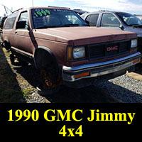 Junkyard 1990 GMC Jimmy 4x4