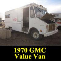 Junkyard GMC Value Van