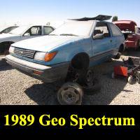 Junkyard 1990 Geo Spectrum