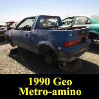 Junkyard 1990 Geo Metro Pickup