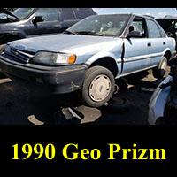 Junkyard 1990 Geo Prizm
