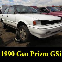 Junkyard 1990 Geo Prizm GSi