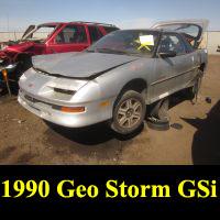 Junkyard 1990 Geo Storm GSi