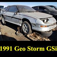 Junkyard 1991 Geo Storm GSi