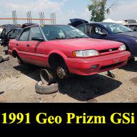 Junkyard 1991 Geo Prizm GSi
