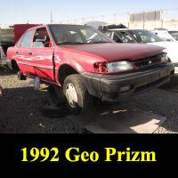 Junkyard 1992 Geo Prizm