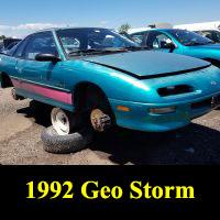 Junkyard 1992 Geo Storm