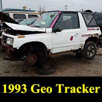 Junkyard 1993 Geo Tracker