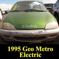 Junkyard 1995 Geo Metro EV