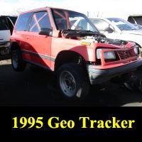 Junkyard 1995 Geo Tracker