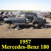 Junkyard 1958 Mercedes-Benz 180