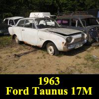 Junkyard 1963 Ford Taunus