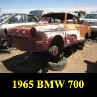 Junkyard 1965 BMW 700