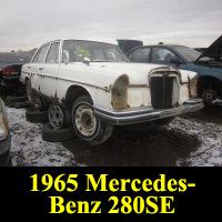 Junkyard 1965 Mercedes-Benz W108