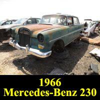 Junkyard 1965 Mercedes-Benz 230
