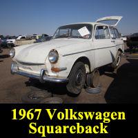 Junkyard 1967 Volkswagen squareback