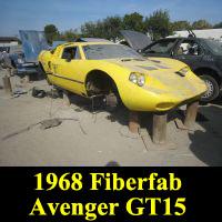 Junkyard 1968 Fiberfab Avenger GT-15