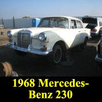 Junkyard 1968 Mercedes-Benz 230