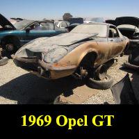 Junkyard 1969 Opel GT