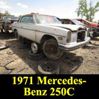 Junkyard 1971 Mercedes-Benz 250C