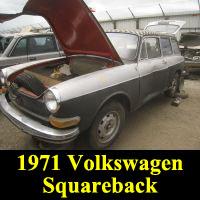Junkyard 1971 Volskwagen Squareback