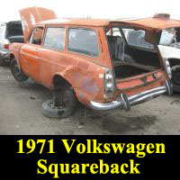 Junkyard 1971 Volkswagen Squareback