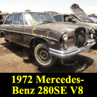 Junkyard 1972 Mercedes-Benz 280 SE 4.5