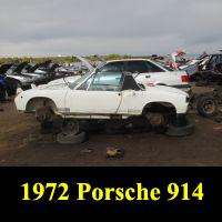 Junkyard 1972 Porsche 914