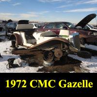 Junkyard 1972 CMC Gazelle