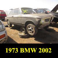 Junkyard 1973 BMW 2002