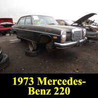 Junkyard 1973 Mercedes-Benz 220