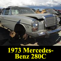 Junkyard 1973 Mercedes-Benz 280C