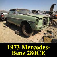 Junkyard 1973 Mercedes-Benz 280CE