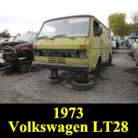 Junkyard 1973 Volkswagen LT28