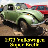 Junkyard 1973 Volkswagen Super Beetle