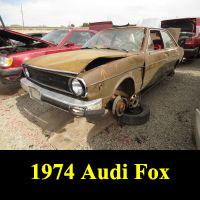 Junkyard 1974 Audi Fox
