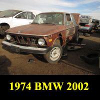 Junkyard 1974 BMW 2002