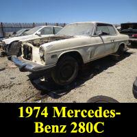Junkyard 1974 Mercedes-Benz 280C