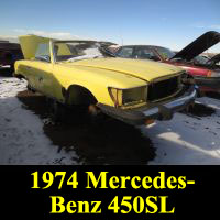 Junkyard 1974 Mercedes-Benz 450SL