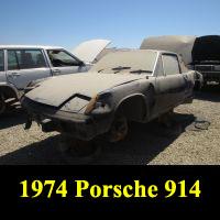 Junkyard 1974 Porsche 914