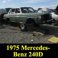 Junkyard 1974 Mercedes-Benz 240D