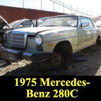 Junkyard 1975 Mercedes-Benz 280C