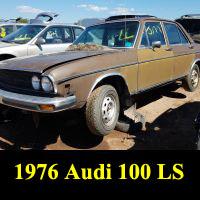 Junkyard 1976 Audi 100LS