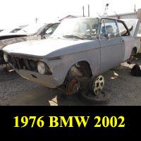 Junkyard 1976 BMW 2002