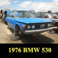 Junkyard 1976 BMW 530