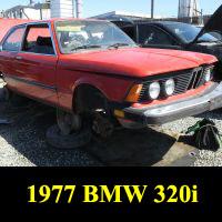 Junkyard 1976 BMW 320i