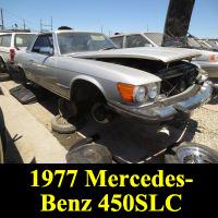 Junkyard 1977 Mercedes-Benz450 SLC