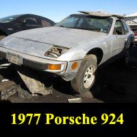 Junkyard 1977 Porsche 924