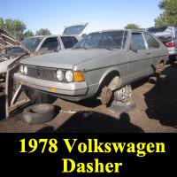 Junkyard 1977 Volkswagen Dasher